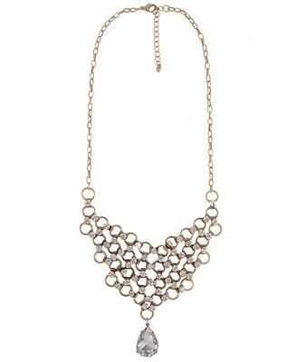 Forever21 Sparkling Collar Necklace