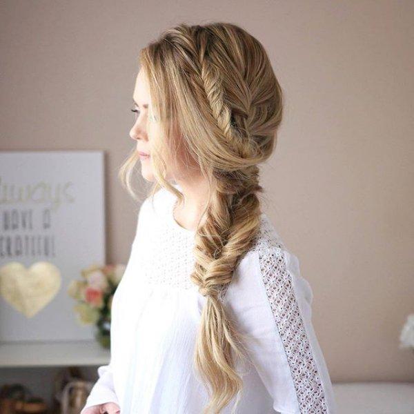 hair, hairstyle, woman, long hair, braid,