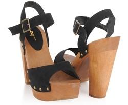 Forever21 Wooden Platform Heel