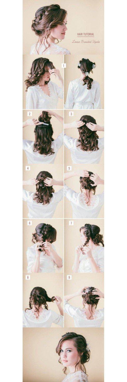Loose Braided Hair Tutorial
