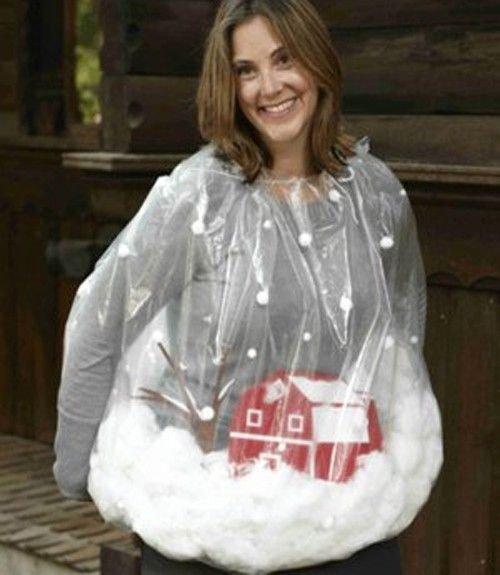 snow globe halloween costume