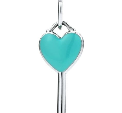 Tiffany Keys Heart Key Charm