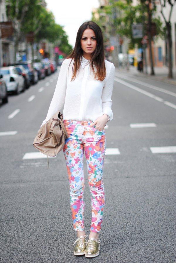 Wear Floral Jeans