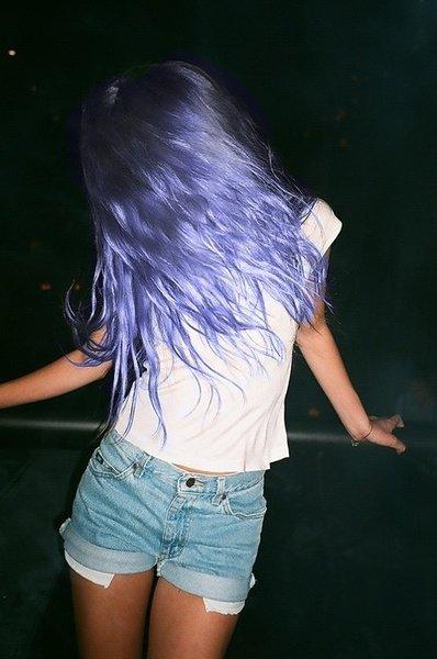 color,hair,blue,person,woman,
