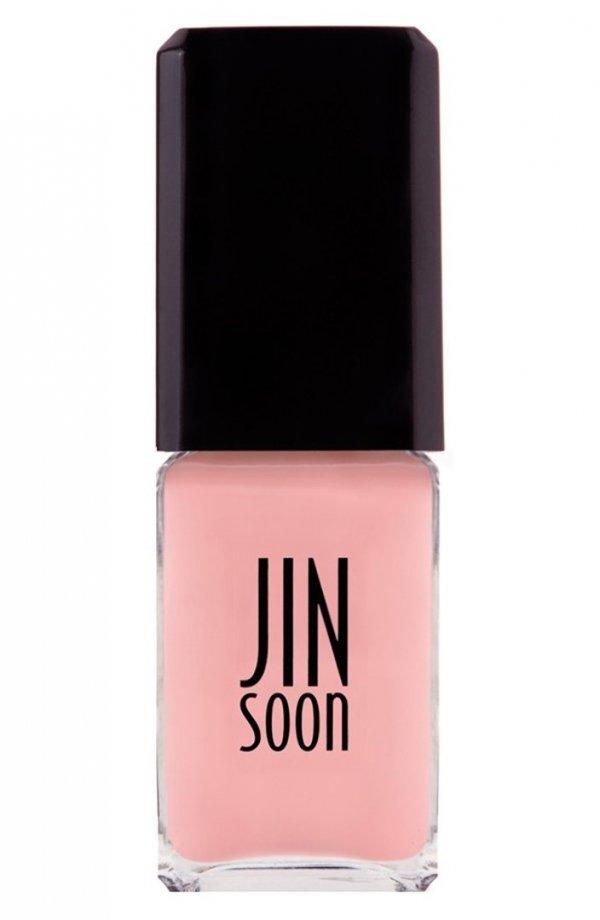 Jin Soon,nail polish,nail care,pink,cosmetics,