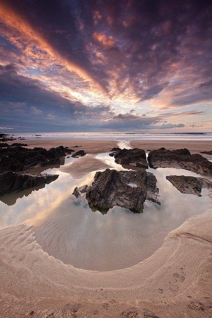 Woolacombe Beach, Woolacombe, England