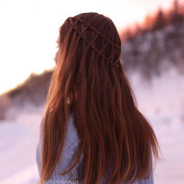 hair, hairstyle, brown, long hair, black hair,
