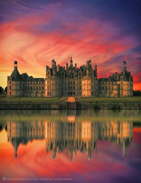 Chateau Du Chambord, France