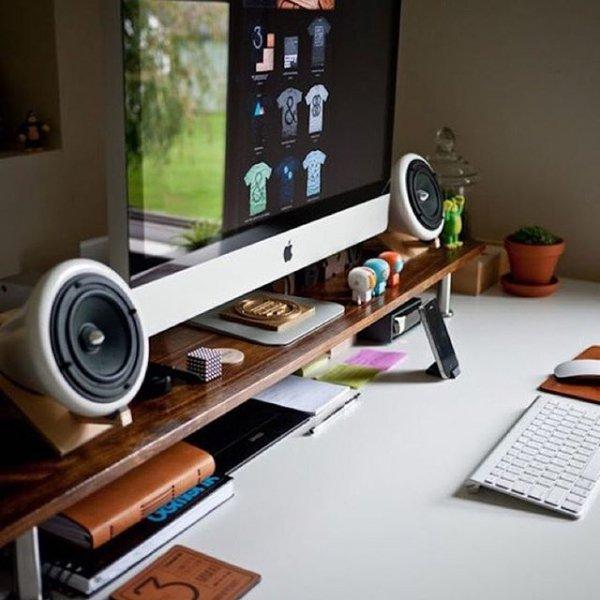 room, desk, living room, furniture, shelf,