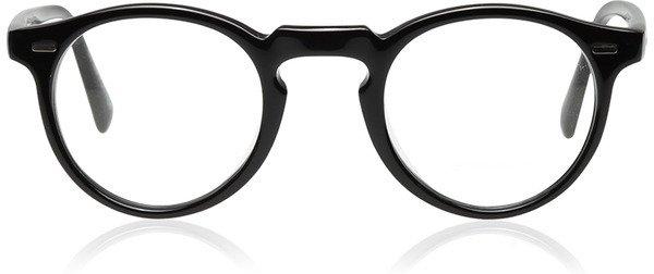 Gregory Peck Glasses, Black