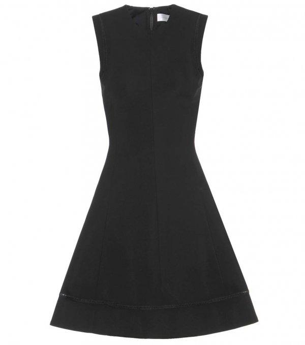 clothing, dress, black, little black dress, sleeve,