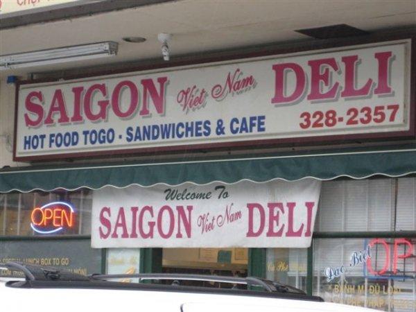 Saigon Deli, Seattle, Washington