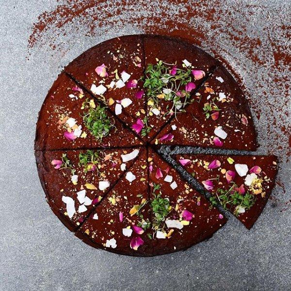 food, dessert, petal, produce, chocolate,