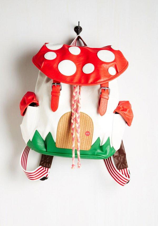 Cartoon Shroom Backpack