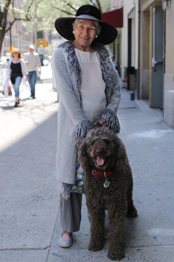 A Fabulous Woman with a Fabulous Dog