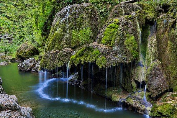 Bigar Waterfall in Romania