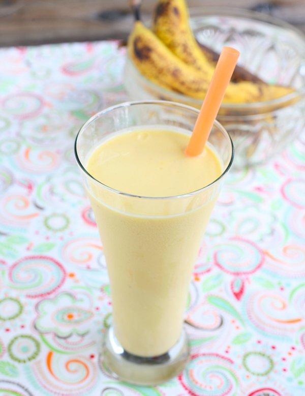 Banana and Vanilla Smoothie