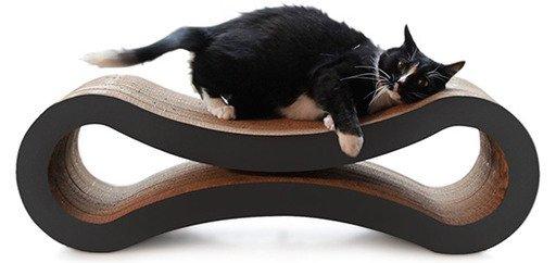 Cat Scratcher Lounge, Walnut Brown