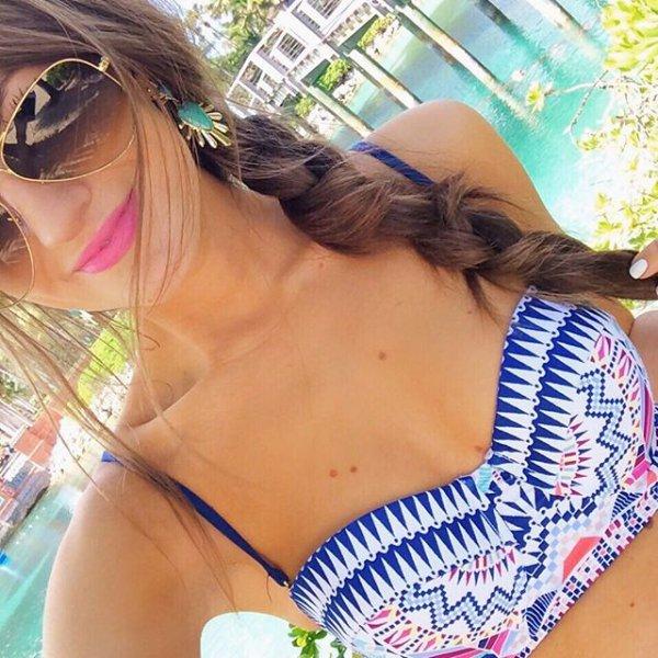 hair, clothing, hairstyle, swimwear, black hair,