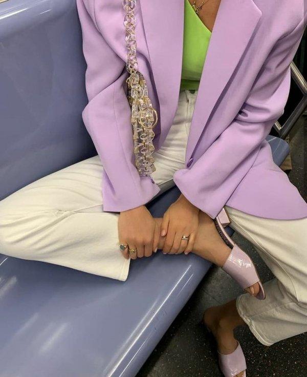 Clothing, Purple, Pink, Fashion, Lilac,