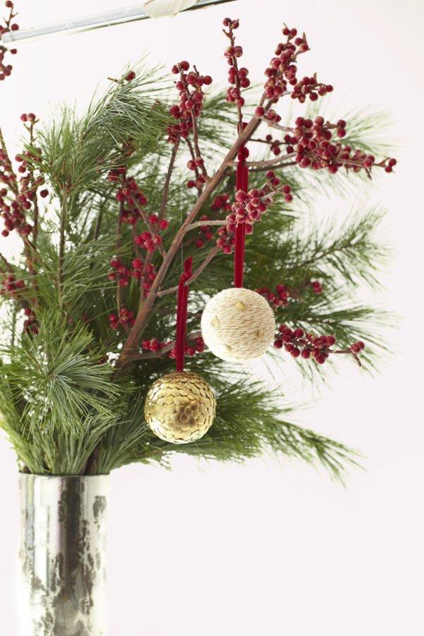flower arranging, tree, branch, floristry, christmas decoration,