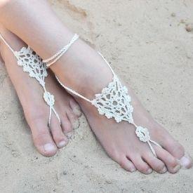 Crochet Sandals