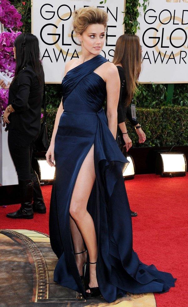 Amber Heard in Versace