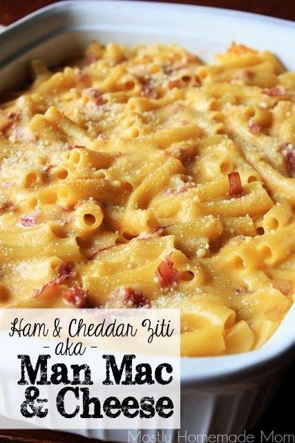 Ham Mac and Cheese