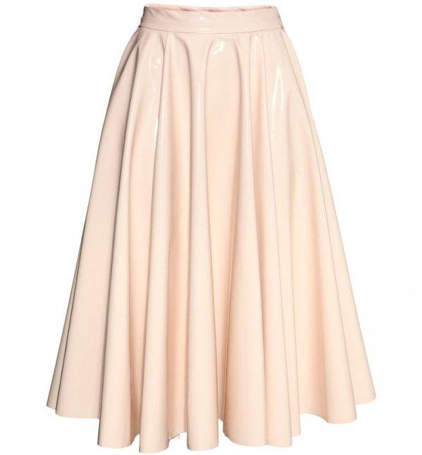 H&M Glossy Skirt