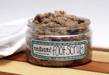 All-Natural Homemade Foot Scrub