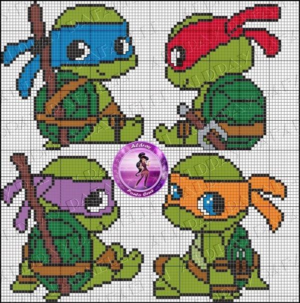 Tiny Ninja Turtles
