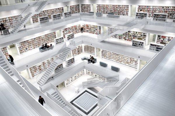 Stuttgart Library, Germany