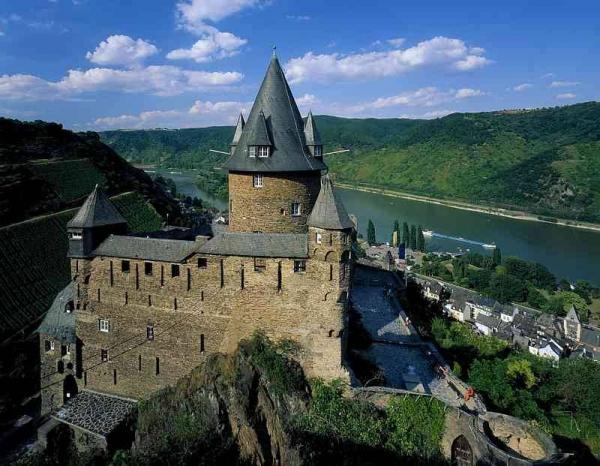 Castle Stahleck, Germany