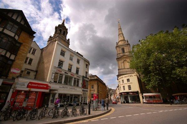 Touring Bristol Old City
