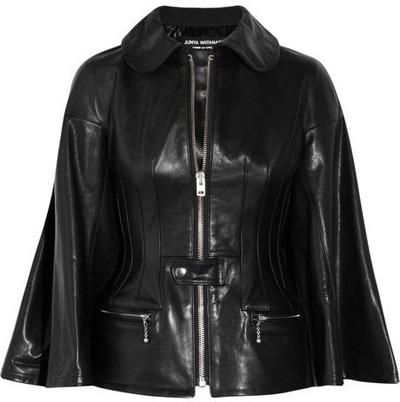 Junya Watanabe Trapeze-Sleeved Leather Jacket