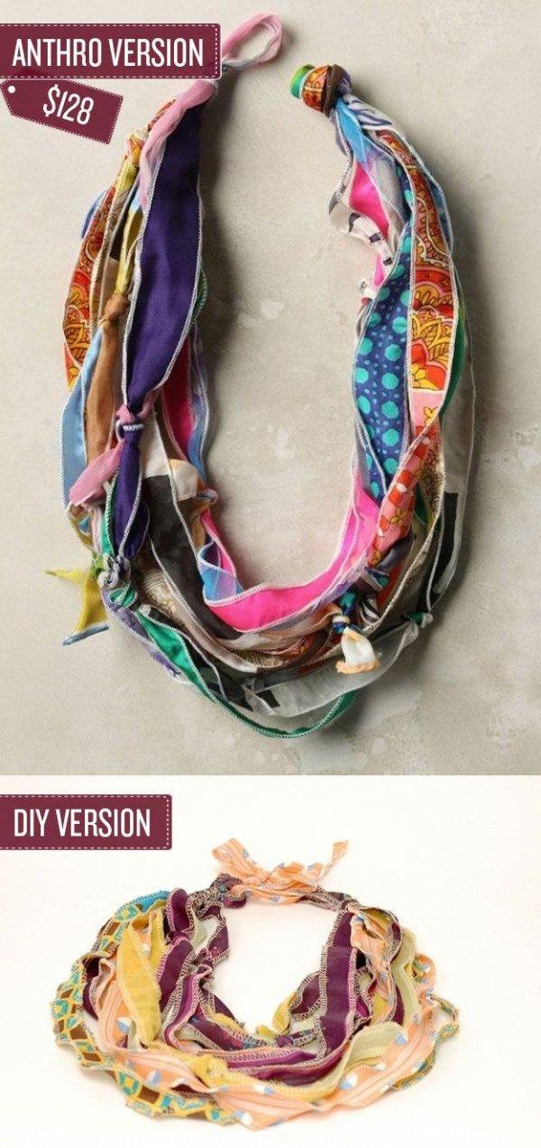 Necklace/Scarf Hybrid