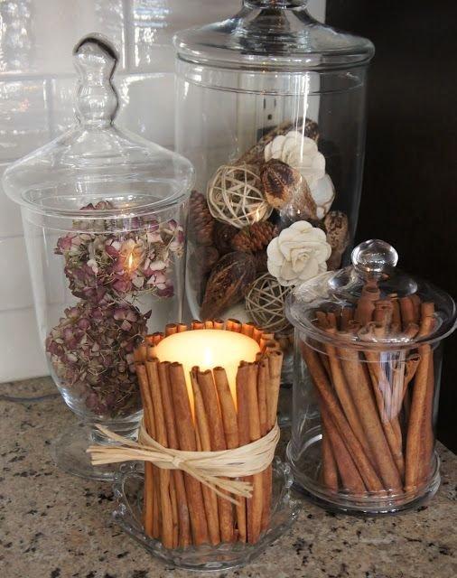 Cinnamon Candle Sticks
