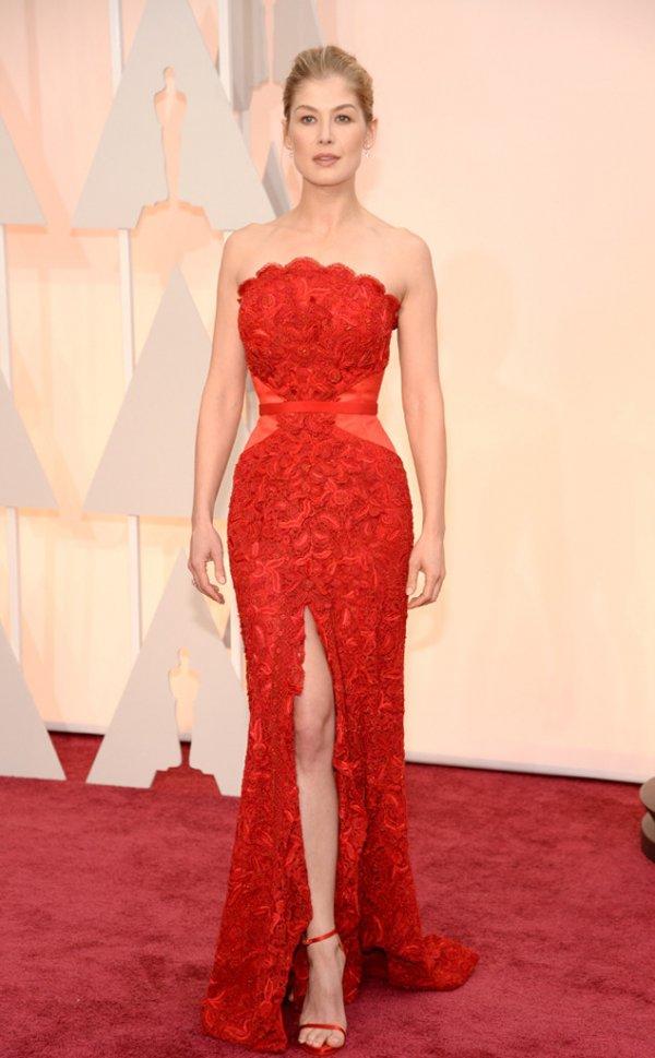 Rosamund Pike at the Oscars