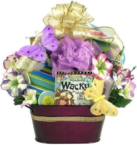 gift basket, basket, flower, flower bouquet, floristry,