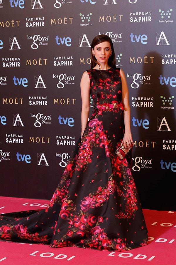 Leticia Dolera at the Goya Awards