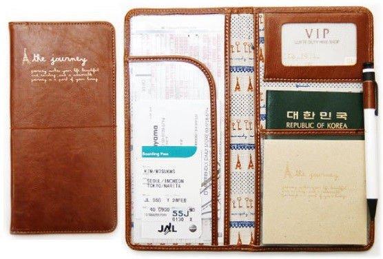 Long JOURNEY Passport Wallet