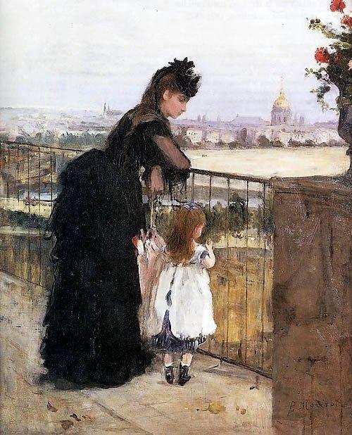 On the Balcony - Morisot