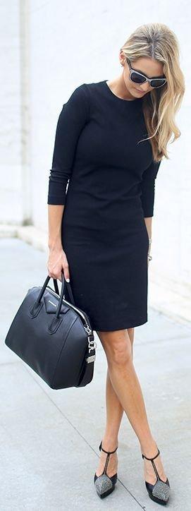 clothing,little black dress,sleeve,dress,footwear,