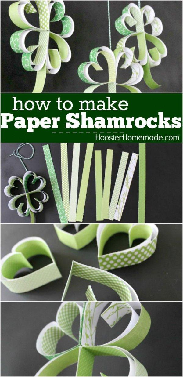 Paper Shamrock