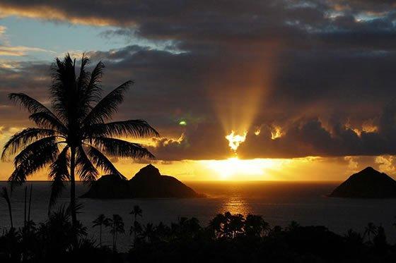 Halekulani Resort in Honolulu, Hawaii, USA