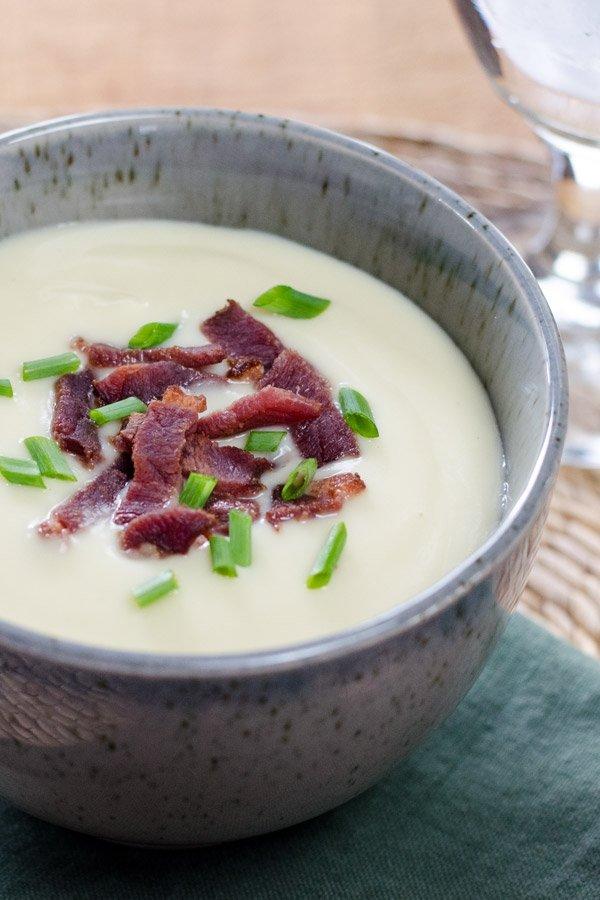 Garnish Creamy Soups