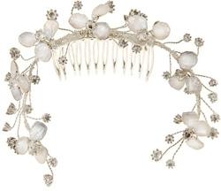 Tacori Bridal Silver, Topaz and Pearl Tiara