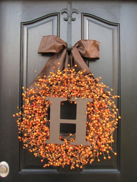 Thanksgiving Door Wreath