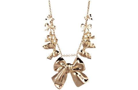 Emily Elizabeth Big Bow Necklace