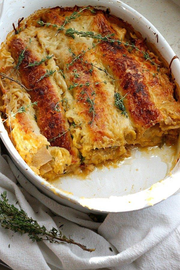 Rossi Pasta Pumpkin Spice Lasagna